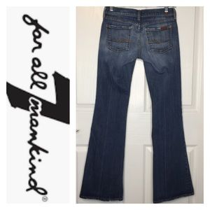 7 For All Mankind Flare Jeans Sz 26